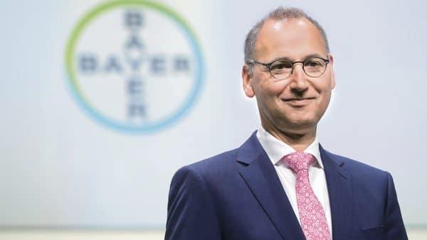 Bayer chief executive Werner Baumann. (Bloomberg)