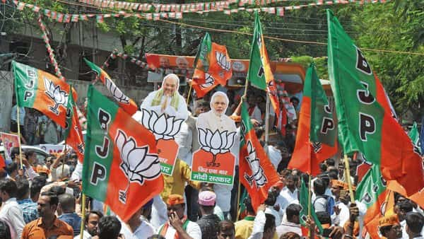 A large part of BJP's gain can be attributed to the near decimation of the Congress. (AFP)