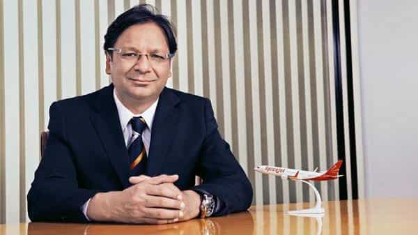 Ajay Singh. chairman and managing director, SpiceJet