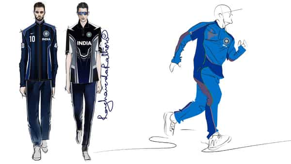 Designers Reimagine The Blue Kits Of The Indian Men S