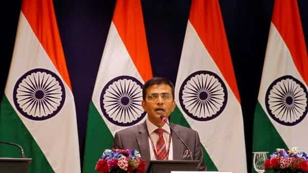 Raveesh Kumar, spokesman for the Indian Foreign Ministry, says