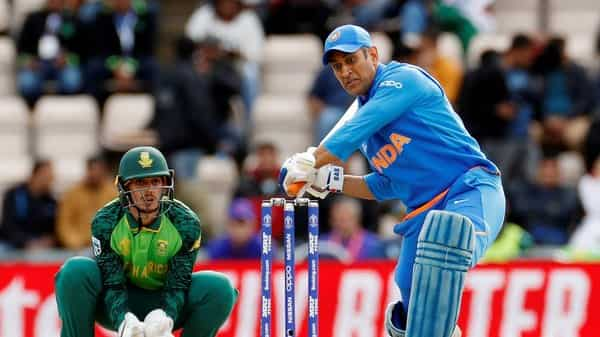 Cricket - ICC Cricket World Cup - South Africa v India - The Ageas Bowl, Southampton, Britain - June 5, 2019 India's MS Dhoni in action (Photo: Reuters)