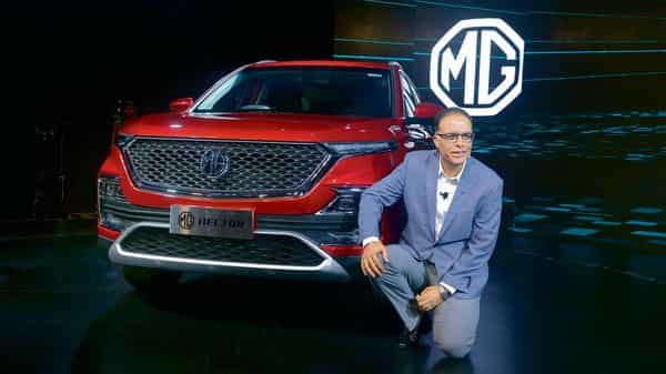 Rajeev Chaba, president and managing director, MG Motor India. (Abhijit Bhatlekar/Mint)