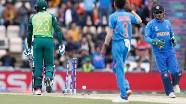 Image result for world cup 2019 dhoni stumping