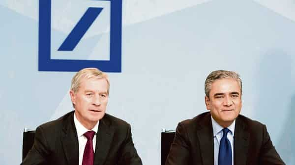 Anshu Jain (right), through a personal spokesman, declined to comment (Photo: Bloomberg)