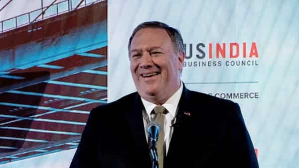 US Secretary of State Mike Pompeo. (AFP)