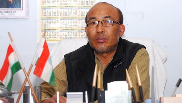 Manipur chief minister Nongthombam Biren.