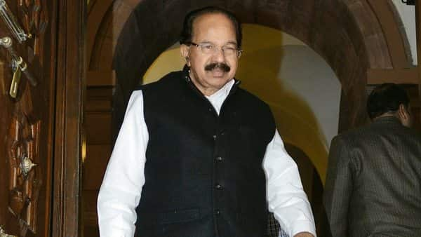 Senior Congress leader M. Veerappa Moily. (Photo: HT)