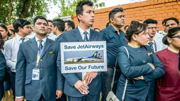 Several Jet Airways employees have managed to secure new jobs but many are still on the hunt (Photo: Pradeep Gaur/Mint)