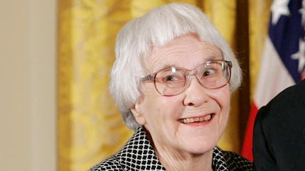 A file photo of Harper Lee