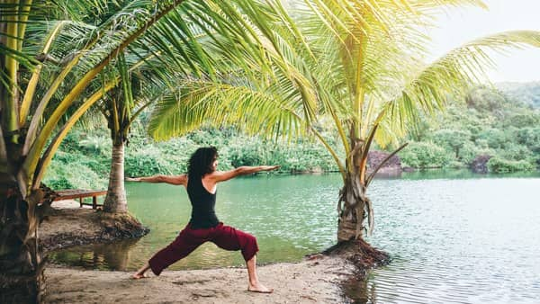You can start yoga at any age, but you need to practise every day. (Getty Images)