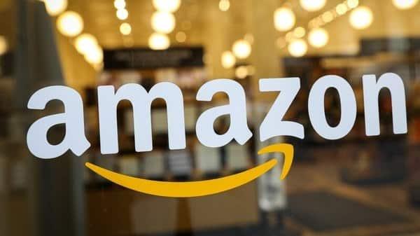 The logo of Amazon .  (Reuters )