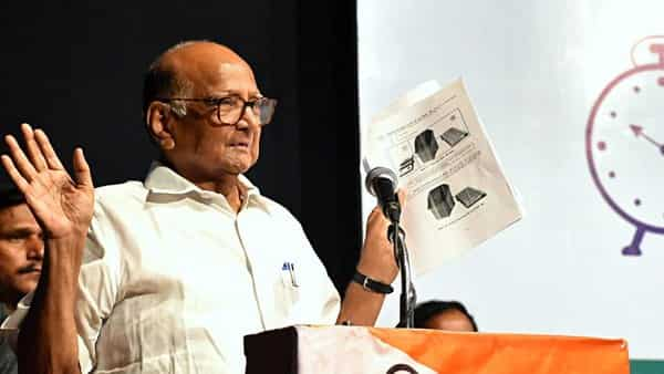 NCP President Sharad Pawar has immediately swung into action after looking at the results on 23 May (Photo: ANI)