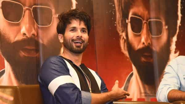 Actor Shahid Kapoor at a press meet to promote his  film 'Kabir Singh in New Delhi on 19 June 2019. (Photo: IANS)