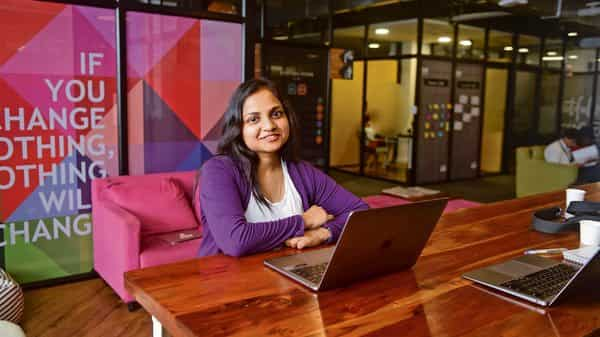 Like Richa Agarwal (above), Sudheer Dhawan (below) too believes one needs to keep investing in learning new, relevant skills even without taking a break.