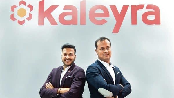 Kaleyra founders Aniketh Jain and Ashish Agarwal.