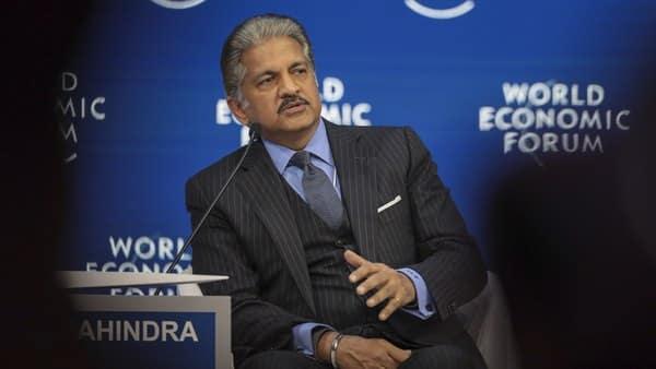 A file photo of Mahindra Group Chairman Anand Mahindra. (Bloomberg)