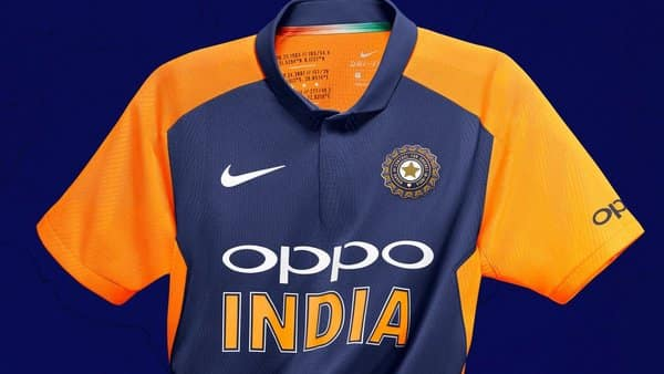 india s away jersey at icc cricket world cup 2019 photo twitter bcci