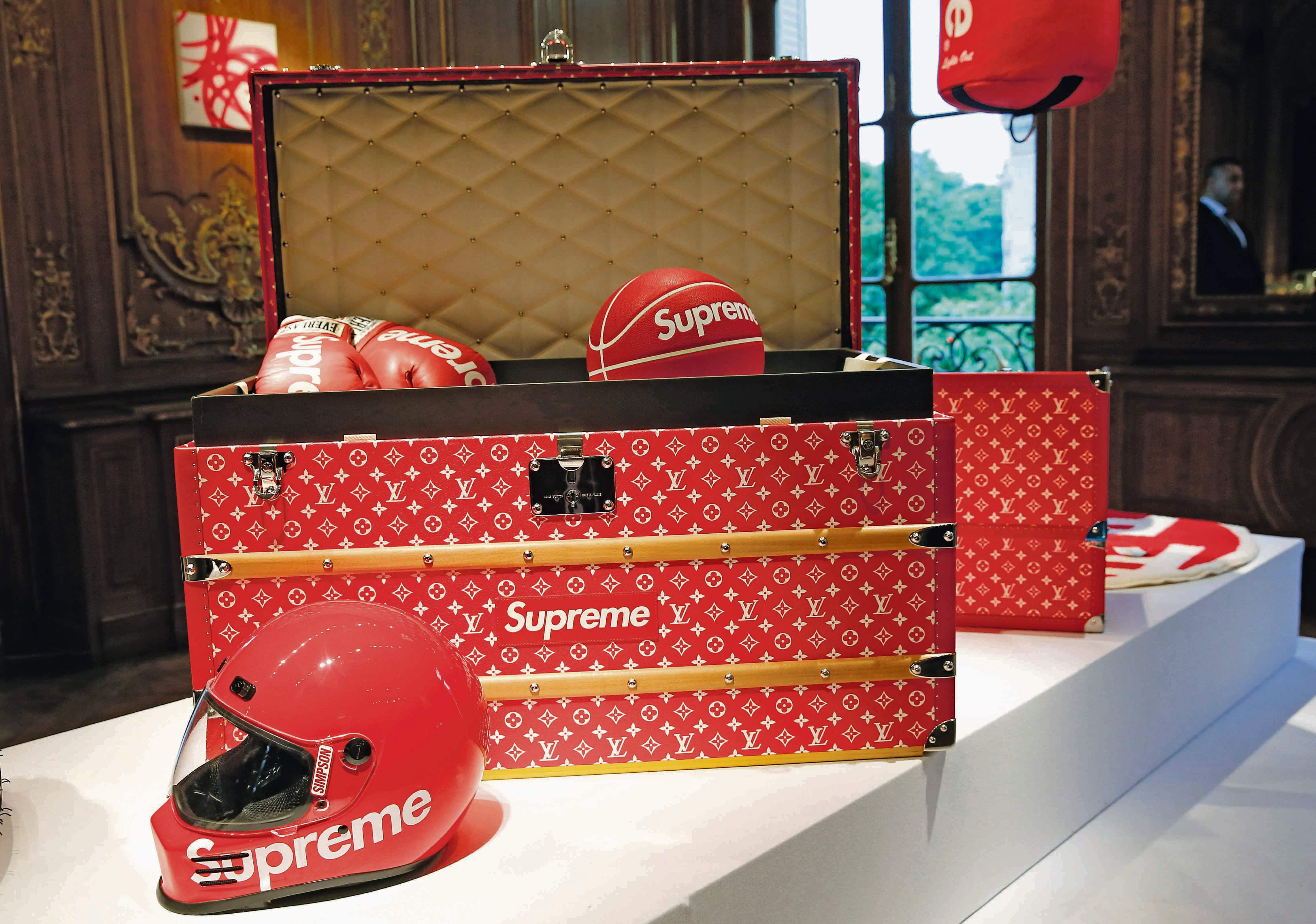 Supreme and Louis Vuitton's collaboration