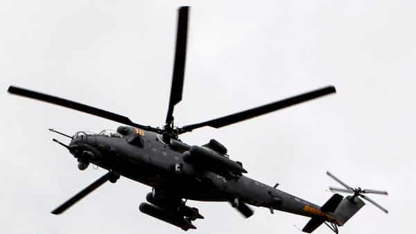 A Russian Mi-35 helicopter  (AFP )