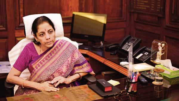 Sitharaman said in response to a question that state-run banks had classified  ₹1.5 trillion worth of loans as wilful defaults in fiscal 2019 (Photo: Pradeep Gaur/Mint)