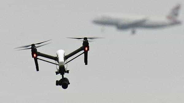 If a NPNT compliant drone tries to breach geo-fencing (to go beyond the permissible boundary in the airspace), the in-built software will compel the drone to return-to-home (RTH). Photo: AP