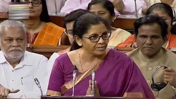 Finance Minister Nirmala Sitharaman presented the Union Budget 2019-20 in the Lok Sabha at Parliament, in New Delhi, today.