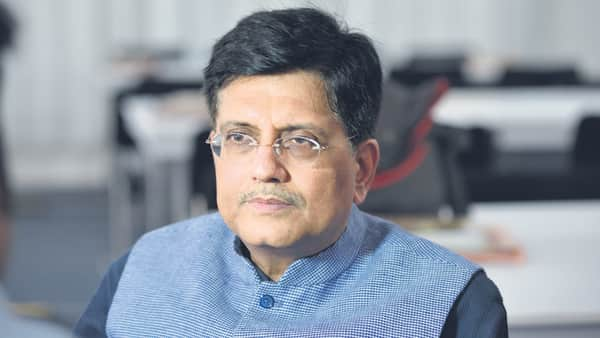 A file photo of Commerce and Industry Minister Piyush Goyal
