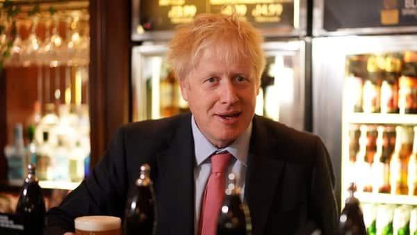 Conservative leadership contender Boris Johnson. (AFP)