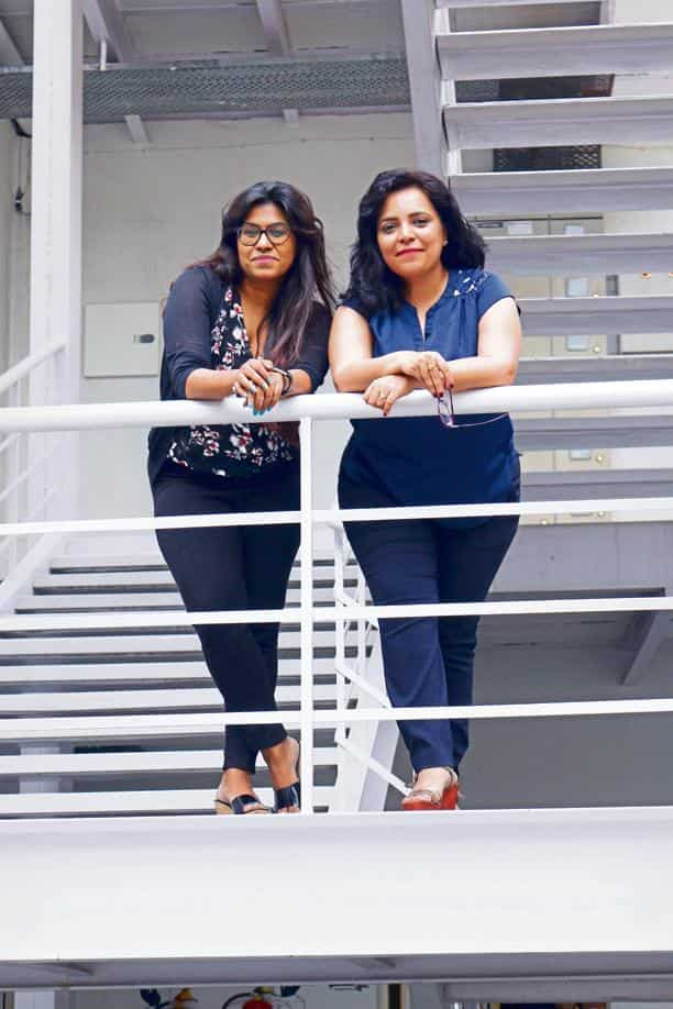 Priyanka Gera(COO) and Annu Talreja(CEO), Co- Founders of Oxfordcaps.
