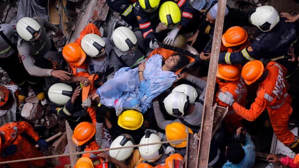 Mumbai building collapse live updates: 11 dead, 40 trapped in Dongri
