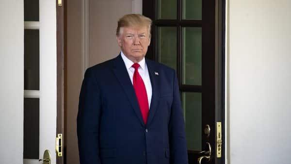 US President Donald Trump. Photo: Bloomberg