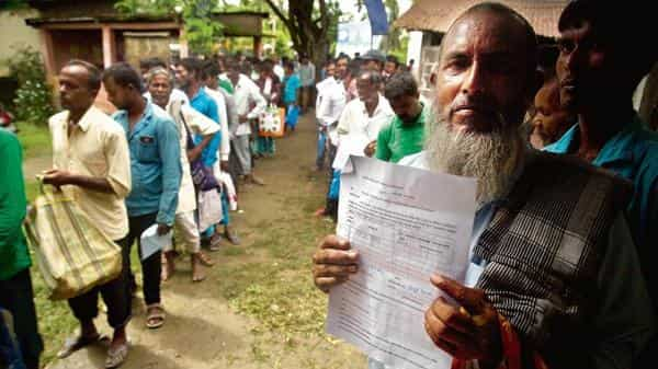 The National Register of Citizens (NRC) is the list of Indian citizens of Assam (AP file)