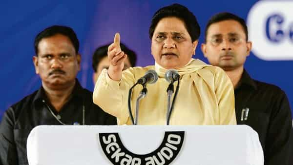 Tax dept seize ₹400 crore Noida plot belonging to Mayawati's brother