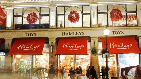 Hamleys has 167 stores across 18 countries. (Photo; Reuters)
