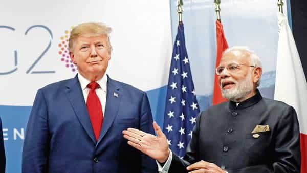 Donald Trump and Narendra Modi. Photo: Reuters