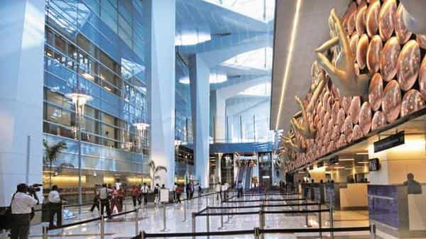 A file photo of IGI Airport. At a height of 102 meters, the tower enables air traffic controllers to have better visibility of all the three runways, apron area and taxiways. (Photo: Pradeep Gaur/Mint)