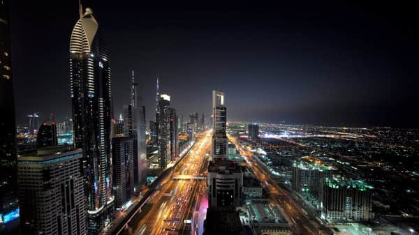 General view of Sheikh Zayed Road in Dubai, United Arab Emirates. (Photo: Reuters)