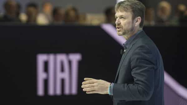 Mike Manley, chief executive officer of Fiat Chrysler Automobiles (File photo: Bloomberg)