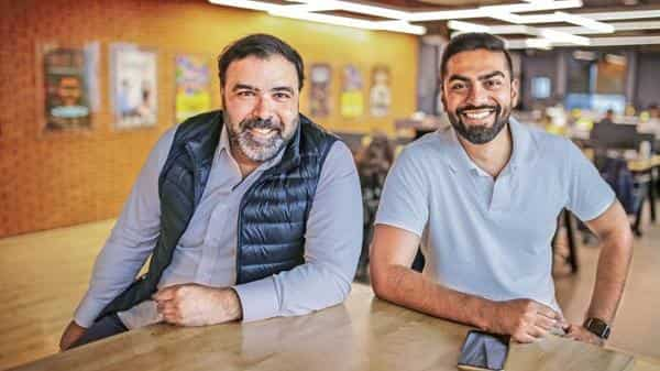 Pocket Aces co-founders Anirudh Pandita (left) and Ashwin Suresh. (Photo: Bloomberg)