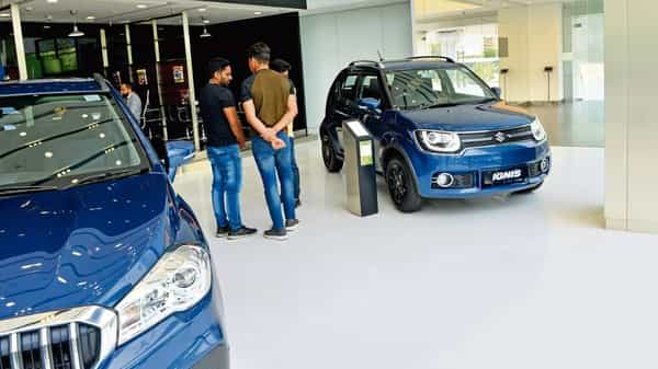 Maruti's parent Suzuki Motor Co has already collaborated with Toyota Motor Co, for developing affordable hybrid and electric vehicles for the Indian market. (Ramesh Pathania/Mint)