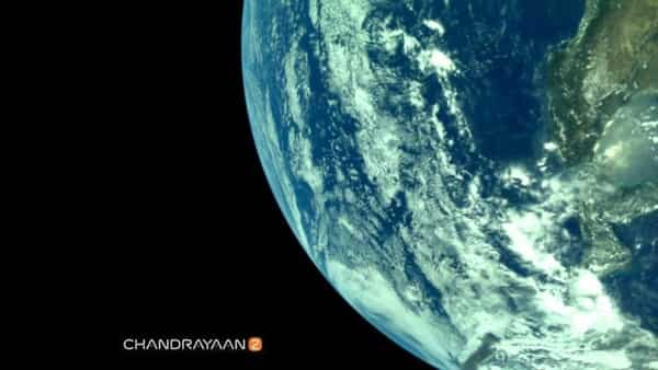 Isro releases Earth photos taken by Chandrayaan-2