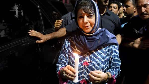 Former Chief Minister of Jammu and Kashmir and PDP leader Mehbooba Mufti (Photo: ANI)
