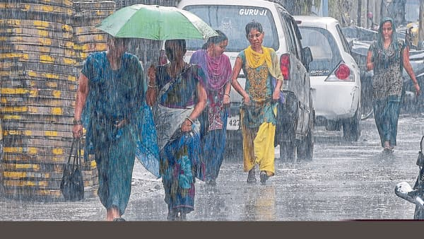 However, the rains are not spread out across Karnataka leaving several other districts drier than the others. (Photo: HT)