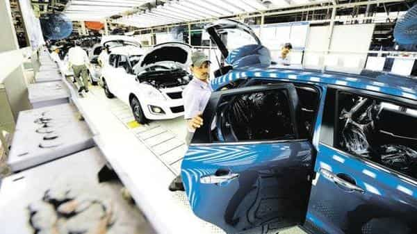 As per SIAM figures, vehicle wholesale across all the categories declined by 12.35% to 60,85,406 units in April-June. (Ramesh Pathania/Mint)