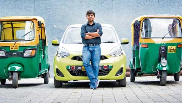 Bhavish Aggarwal, co-founder and CEO of ANI Technologies-run Ola