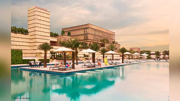 Lodha NCP has eleven swimming pools, including an Olympic-length pool on its premises. (Lodha Group)