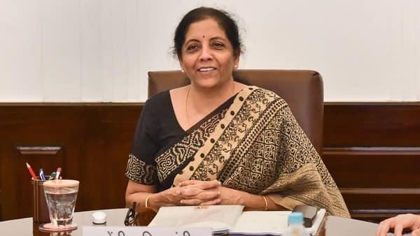 A file photo of finance minister Nirmala Sitharaman (PTI)