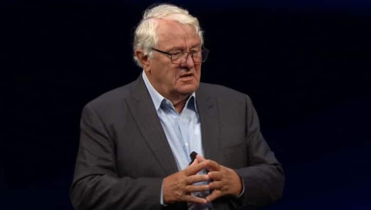SAP founder Hasso Plattner (Photo: events.sap.com)