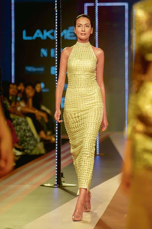 A runway look by Sunaina Khera